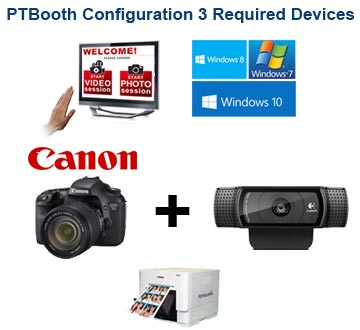 PTBooth Photo Booth Software Supported Devices