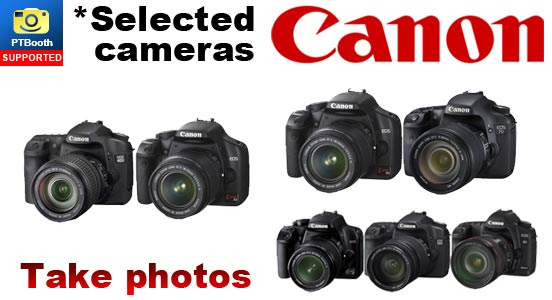 Only selected Canon cameras are supported