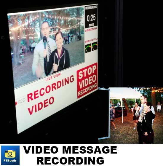 PTBooth A1 PLUS has the ability to record video messages